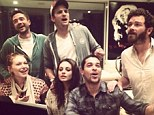 The cast of That '70s Show reunite to perform the show's theme tune, seven years after the series ended