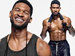 'I train like an athlete everyday': Usher shows off results of his intense fitness regime in sizzling shirtless photo shoot