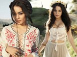Vanessa Hudgens channels the boho look as she discusses BFF Ashley Tisdale and being 'too trusting'
