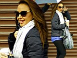 Leah Remini flashes a smile as she heads to DWTS rehearsals... after she is confirmed to testify in multi-million dollar lawsuit against the Church Of Scientology