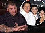 'He's my dad': Rob Kardashian says Bruce Jenner will still be in his life despite split from Kris... and insists the former couple couldn't 'be in a happier place'