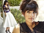Back to her roots: New Girl star and former model Hannah Simone makes inexpensive winter woollies look a million bucks in new Redbook shoot