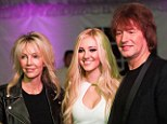 Seems like old times! Heather Lockear and ex-husband Richie Sambora reunite for their daughter Ava's Sweet 16 birthday