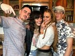 Happy families! Dina Lohan posts a photo of Lindsay and her siblings on Instagram