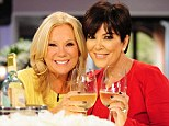 Best of friends: Kathie and Kris are close friends, and Kathie is godmother to Kendall and Kylie