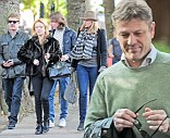 Sean Bean and family