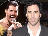 Queen's Brian May reveals Sacha Baron Cohen was ruled too 'distracting' to play Freddie Mercury in new biopic