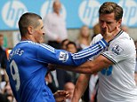 Incident: Torres scratching Jan Vertonghen was discussed thoroughly after Chelsea played Tottenham