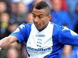 On target: Lingard has scored five goals in four games for Championship side Birmingham