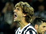 Out of favour: Llorente joined Juventus in the summer but has found his opportunities limited