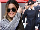 Kris Jenner and Khloe Kardashian put their marriage woes behind them for stylish joint appearance at Babyface's Walk of Fame star ceremony