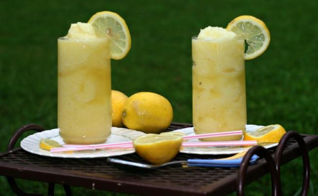 lemonade slushy
