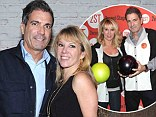Reality stars: Mario and Ramona Singer posed together on Monday at a New York City restaurant event