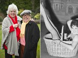 Ronnie Corbett, with his wife Anne