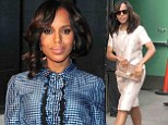 Kerry Washington to 'share something special' on Good Morning America... setting Twittersphere abuzz that she is pregnant