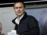 Win: Dennis Wise has won a claim for return of £500,000 from former Charlton co-owner Tony Jimenez