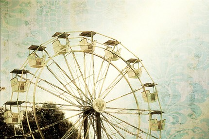 Photo Fine Art Print At the Fair by Gallery32