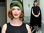 Christina Hendricks attends a Tracy Paul dinner for Uno de 50 at Cecconi's Restaurant