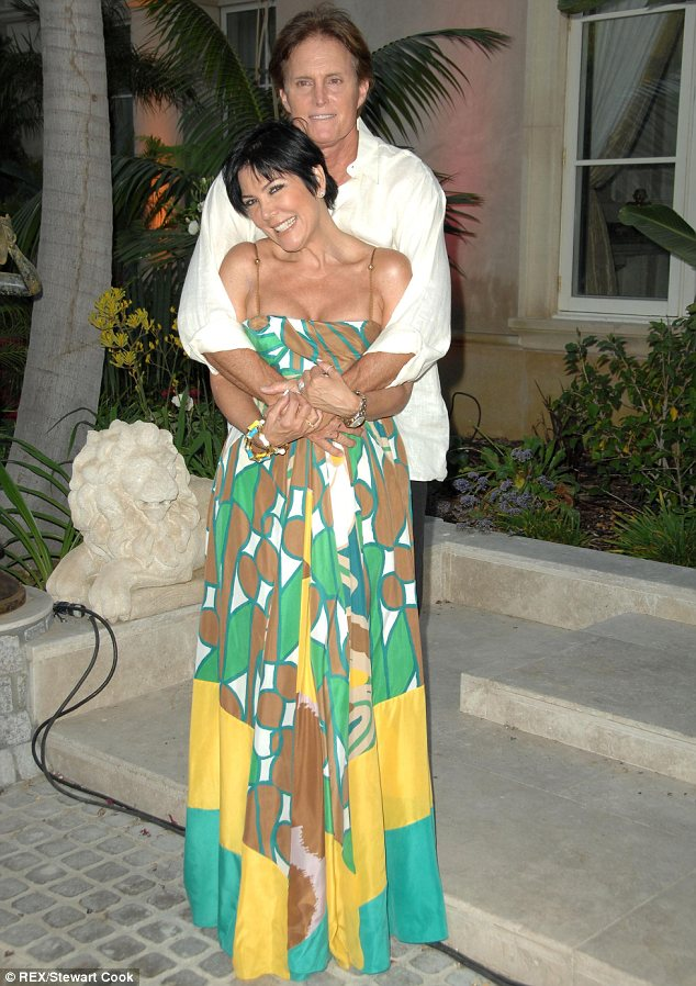 It's over: Bruce and Kris, seen in 2008, have been married for 22 years and have two children together, Kendall and Kylie