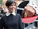 I'm free! Kris Jenner waves her wedding ring free hand to the crowds as she and Khloe Kardashian make stylish joint appearance at Babyface's Walk of Fame star ceremony