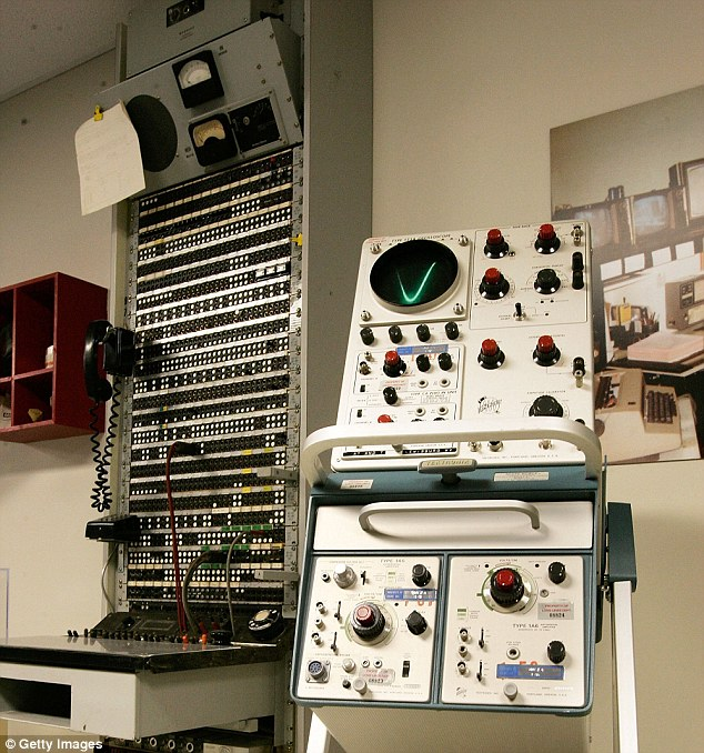 Contact: Communication equipment is seen on display inside the bunker designed to serve as a relocation site for members of the U.S. Congress