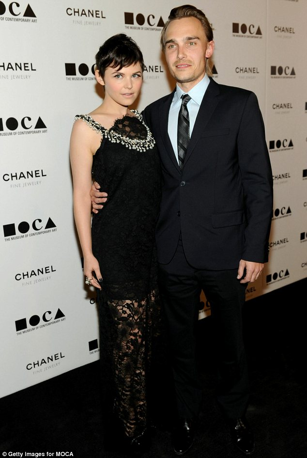 Split: Ginnifer and Joey Kern called off their engagement in 2011 after a two year romance