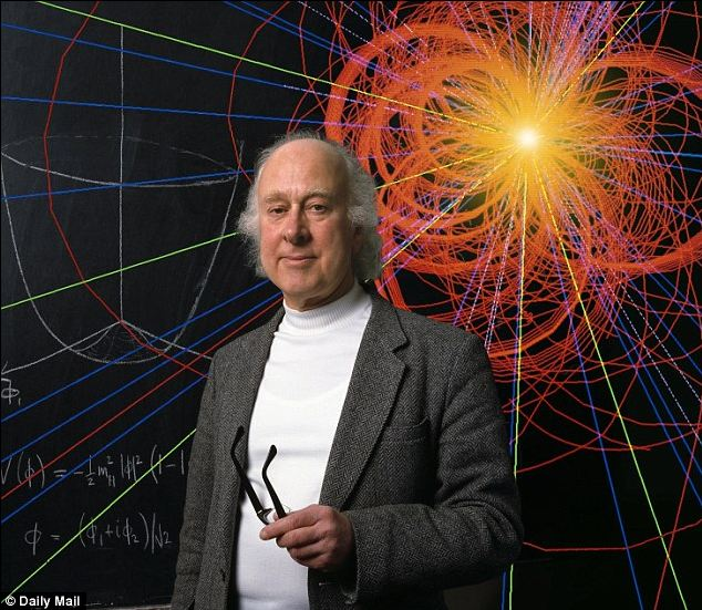 The Royal Swedish Academy of Sciences couldn't contact Peter Higgs