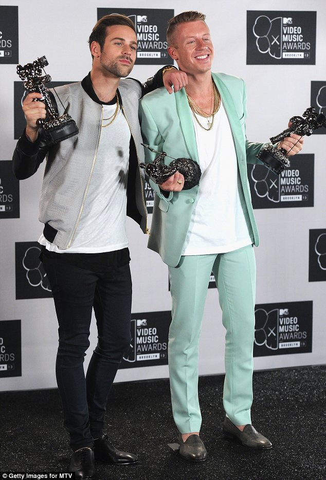 What a year: Macklemore & Ryan Lewis lead the way with nominations in six categories and the duo have already won big at the MTV VMAs