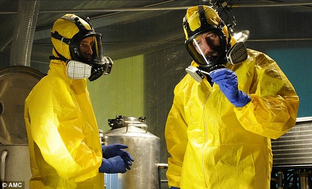 Props auction: The hazmat suit worn by Walter White in the hit show Breaking Bad will be up for auction upon the show's conclusion
