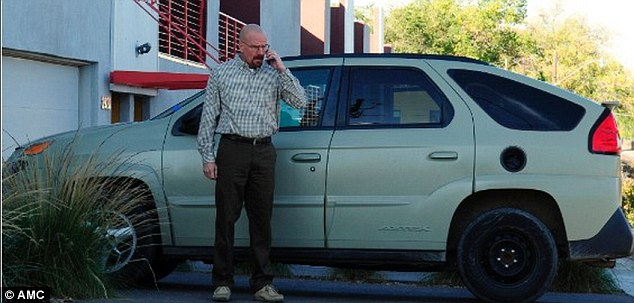 Walter's car: The Pontiac Aztek that Walter drove in Breaking Bad will be on the auction block