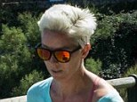 Passionate: Maria de Villota jogging in Santander last month remained passionate about life