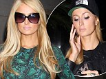 Paris Hilton looks stunning in a green dress in NYC... just hours after calling a radio host a 'f***ing a**hole,' not realizing she was still on the air