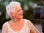 Laughing matters: Judi Dench pictured during the 70th Venice International Film Festival this year