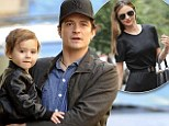'I won't spend more than two or three weeks away from him': Orlando Bloom feels 'weird' leaving son Flynn while wife Miranda Kerr takes only seven days