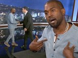 Kanye West appears on the show following their recent public feud.