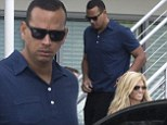 Time to rebuild? Alex Rodriguez visits an architect with girlfriend Torrie Wilson amidst his legal battle with the baseball league