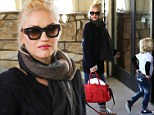 Gwen Stefani and sons head off for a weekend getaway