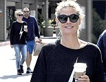 Heidi Klum and Martin Kristen start their day with some quality time together in Beverly Hills