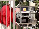 Are they for real? Kris and Bruce Jenner make lonely trips to same storage unit... before teaming up for cosy night in