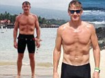 Gordon Ramsay flaunts his toned body on Twitter while training for gruelling championship in Hawaii