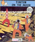 Tintin on the Moon Atari ST Front Cover