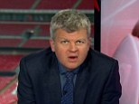 Speaking at the end of England's 4-1 victory over Montenegro, the presenter said: 'There will be 15,000 here on Tuesday - good job, I need some building work doing.'