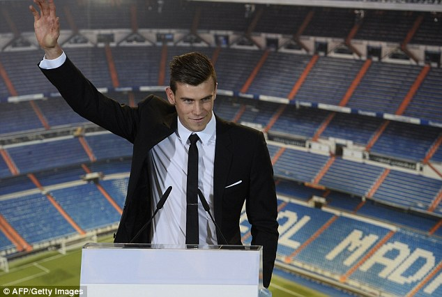 Upstaged! Madrid signed Gareth Bale for £86m in the same week as Fulco's move