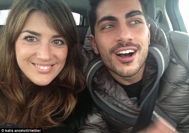 Living the high life: Katia now has boyfriend, father and brother working at Madrid