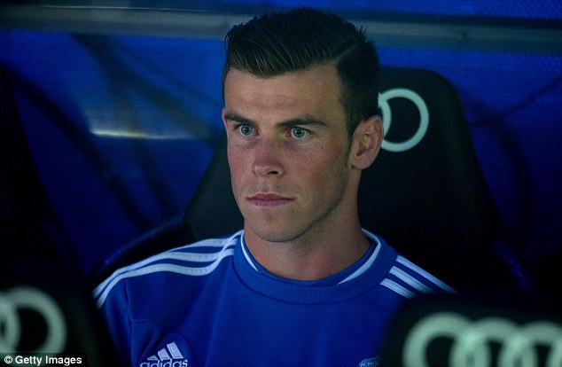 Sidelined: Bale may need surgery to remedy the problem that has plagued his start to life at Madrid