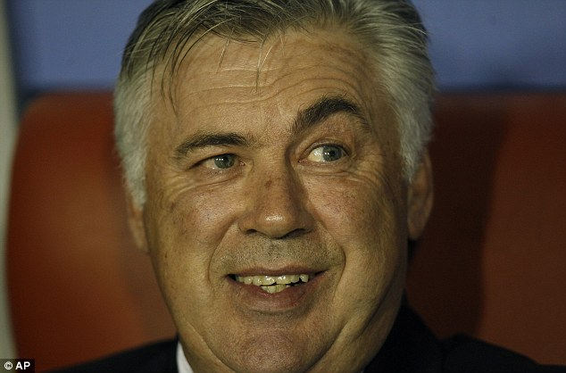 Keep it in the family! Ancelotti also has son Davide on the Madrid books