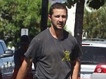 Trouble: Shia LaBeouf was reportedly kicked in the groin after he filmed a woman being sick on a London night outb