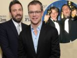 Together again! Good Will Hunting duo Matt Damon and Ben Affleck reunite on new television comedy More Time With Family