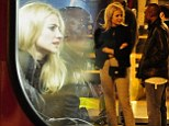 Pixie Lott watches the pennies and gets the bus home after night out with friends