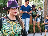Reality star Kourtney Kardashian and Scott Disick